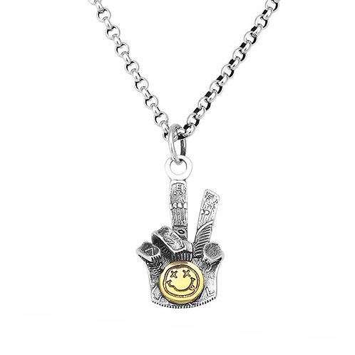 Silver creative design easy-matching pendant sterling silver 925