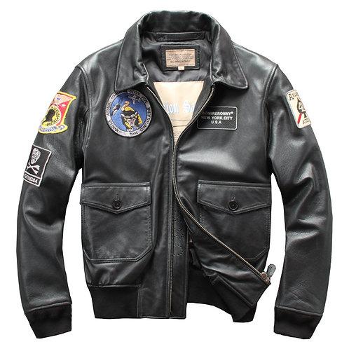 Men's Premium Full Grain Cow Leather Jacket