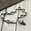 Thumbnail: Retro punk rock style skull easy-matching bracelet sterling silver 925