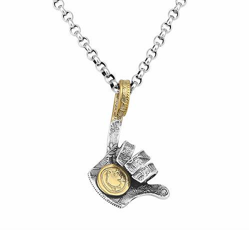 Silver smile face fashion design pendant sterling silver 925
