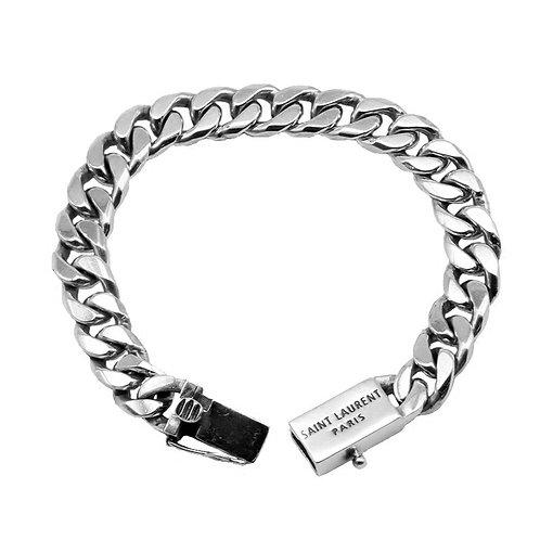 Western fashion simple design retro bracelet sterling silver 925