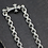 Thumbnail: Silver unique style cross  bracelet sterling silver 925