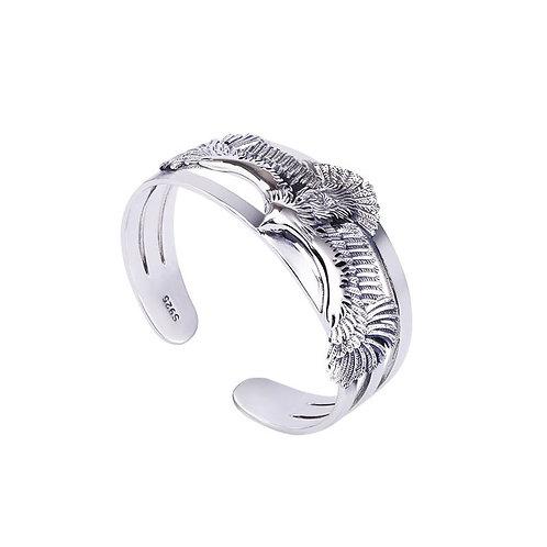 Fashion design flying eagle unique style men's bracelet sterling silver 925