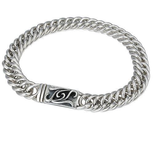 Fashion unique design horsewhip bracelet sterling silver 925