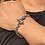 Thumbnail: Gabor lion head meteorite crater silver bracelet sterling silver 925