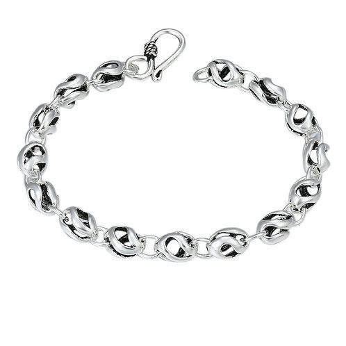 Fashion retro style creative design bracelet sterling silver 925