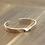 Thumbnail: Silver unique design simple retro twist bracelet sterling silver 925