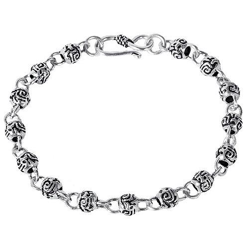 Silver retro fashion design bracelet sterling silver 925