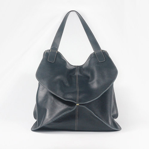 Creative design handmade cow leather pastoral casual style leather bag