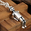 Thumbnail: Silver western creative design puppet pendant sterling silver 925