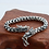 Thumbnail: Silver dragon head dragon scales men's bracelet sterling silver 925