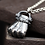 Thumbnail: Silver fist of brave fashion pendant sterling silver 925