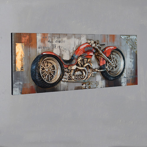 Creative Retro Design Handcrafted Wall Hanging Painting