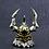 Thumbnail: Japanese samurai helmet pendant sterling silver 925