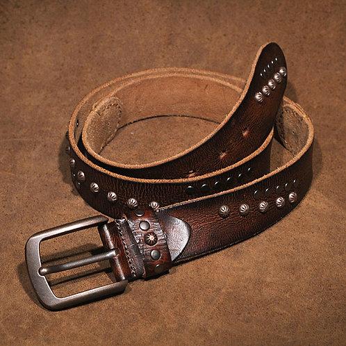 Men's Full-Grain Cow Leather Belt