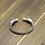 Thumbnail: Unique domineering hip-hop style punk men's bracelet sterling silver 925