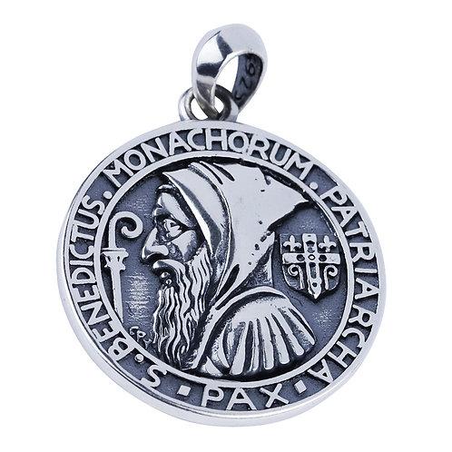 Creative retro design Italian amulet pendant sterling silver 925