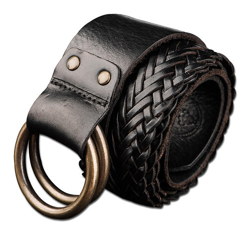Men's Full-Grain Cow Leather Belt