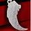 Thumbnail: Silver fashion wolf fang pendant sterling silver 999