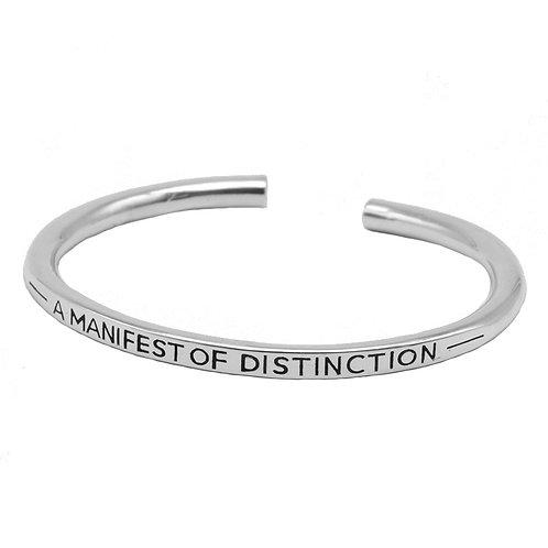 Unique retro style simple couple bracelet sterling silver 925