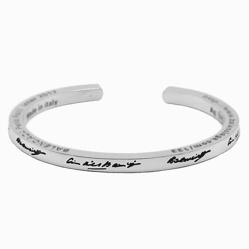 Retro unique style fashion design couple bracelet sterling silver 925