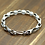 Thumbnail: Retro unique design silver skull men's bracelet sterling silver 925