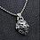 Thumbnail: Lion Leo fashion pendant sterling silver 925 retro style