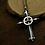 Thumbnail: Silver Jesus cross unique retro style pendant sterling silver 925