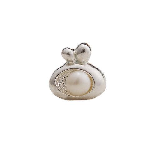 Western style fashion pearl women's pendant sterling silver 990