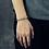 Thumbnail: Unique fashion design anchor bouquet bracelet sterling silver 925