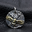 Thumbnail: American eagle pendant sterling silver 925 Indian style