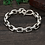 Thumbnail: Unique design easy-matching men's bracelet sterling silver 925