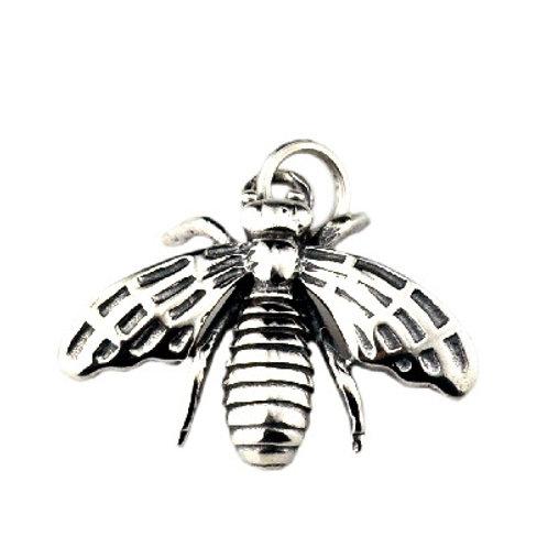 Silver Korean fashion style bee pendant sterling silver 925