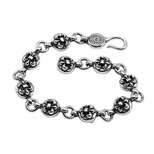 Unique fashion design anchor bouquet bracelet sterling silver 925