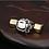 Thumbnail: Fist dumbbell pendant sterling silver 925  retro style