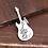 Thumbnail: Goro's guitar eagle fashion design pendant sterling silver 925