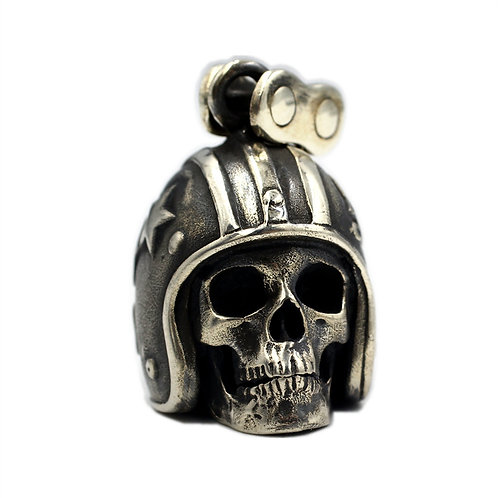 Heavy Motorcycle Harley pendant sterling silver 925 Punk rock style