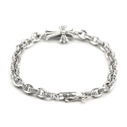 Silver unique style cross  bracelet sterling silver 925