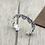 Thumbnail: Unique punk style hip-hop cross bracelet sterling silver 925