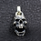 Thumbnail: Gag-tooth skull pendant sterling silver 925 punk style