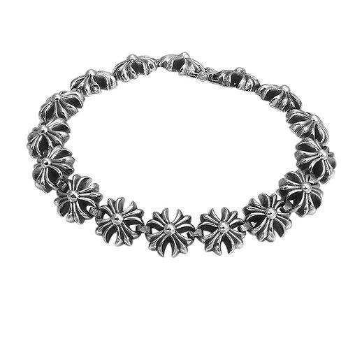 New arrival retro fashion design Korean style men's bracelet sterling silver 925