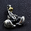 Thumbnail: Scorpion power 3D pendant sterling silver 925 punk style