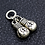 Thumbnail: gloves  pendant pairs sterling silver 925 punk style
