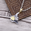 Thumbnail: Silver smile face fashion design pendant sterling silver 925