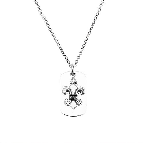 Simple style easy-matching anchor sweater pendant sterling silver 925