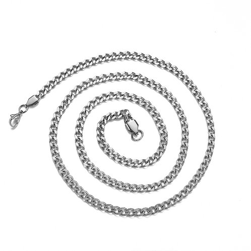 Western Cuban style stainless steel 316L necklace