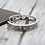 Thumbnail: Silver Indian style retro flying eagle bracelet sterling silver 925
