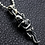 Thumbnail: Hug skull pendant sterling silver 925