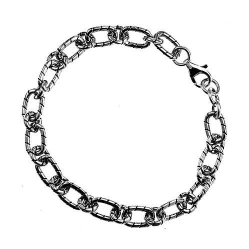 Silver retro easy-matching Korean style bracelet sterling silver 925
