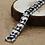 Thumbnail: Silver domineering retro dragon bone bracelet sterling silver 925